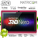 7 Matricom .TAB Nero Tablet PC - Android 4 Capacitive Multi-Touch 4GB (Pink)