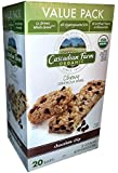 Cascadian Farms Chocolate Chip Chewy Granola Bars ,1.2 oz (Pack of 20)