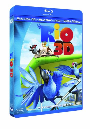 Rio 3D [Blu-ray]