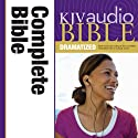 KJV Complete Bible Dramatized Audio Audiobook by  Zondervan Narrated by  uncredited