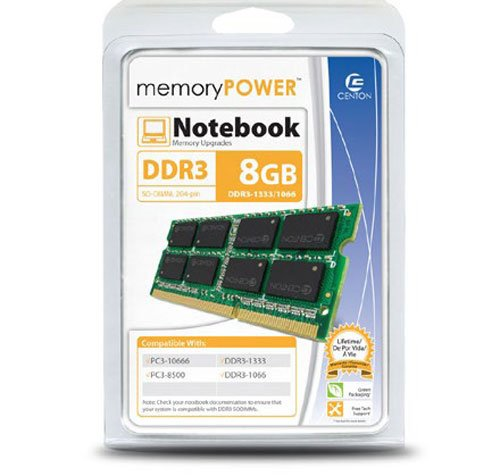 centon-electronics-8gb-pc3-10600-1333mt-s-204-pin-ddr3-sodimm-8-ddr3-1333-pc3-10600-ddr2-1333-r1333s