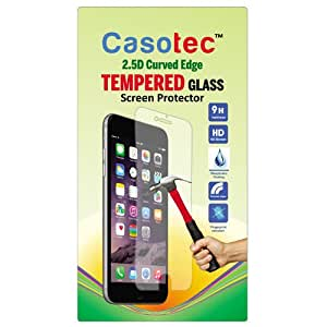 Casotec 2.5D Curved Edge Tempered Glass Screen Protector for Sony Xperia L