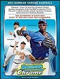 MLB Bowman 2013 Chrome Hobby Baseball Card box