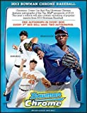 MLB Bowman 2013 Chrome Hobby Baseball Card box