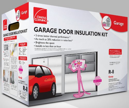Owens Corning 500824 Garage Door Insulation Kit Includes
