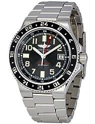 Breitling Men's A3238011/BA38 Aeromarine Superocean GMT Black Dial Watch