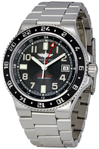 Breitling Aeromarine Superocean GMT Gents Dress Watch A3238011/BA38