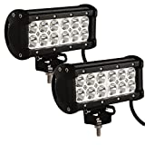 Tiauto 2個入り36W LEDワークライト作業灯12v/24v兼用船舶用、車用、建築機械用、集魚灯、看板灯、投光器、現場作業、夜間作業LEDワークライト [並行輸入品]
