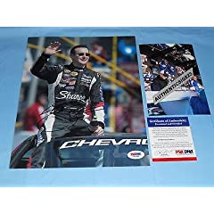 Signed Kurt Busch Picture - COOL! 8X10 RACING PROOF! b - PSA DNA Certified -... by Sports Memorabilia