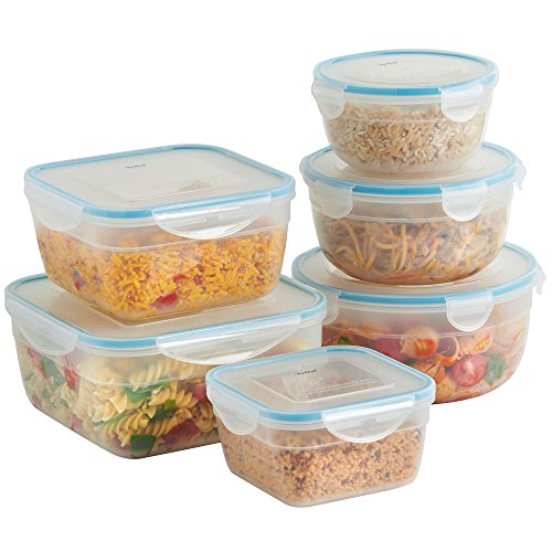 vonshef-6-piece-microwavable-plastic-food-storage-container-set-with-air-tight-lids-free-2-year-warr