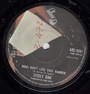 Steely Dan Rikki Don T Lose That Number Any Major Dude