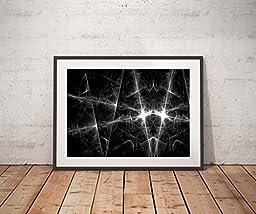 X-Ray Lightning Abstract Art print