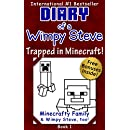Minecraft: Diary of a Wimpy Steve: Book 1: Trapped in...