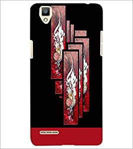 PrintDhaba Chinese Symbol D-5934 Back Case Cover for OPPO F1 (Multi-Coloured)