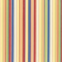 Sunbrella Striped Indoor / Outdoor Furniture Fabric Castanet Beach #5604-0000 from Glen Raven