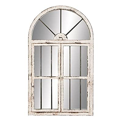 Aspire Home Accents Arched Window Wall Mirror - 25W x 42H in.