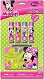 Minnie Bowtique Lip Balm with Collectable Tin, Strawberry/Raspberry, 5 Count