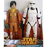 Jakks Pacific Star Wars Rebels 20 Ezra & Rebels Stormtrooper Figures Dc Comic