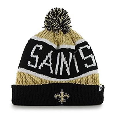 '47 Brand Cuff Knit New Orleans Saints Beanie