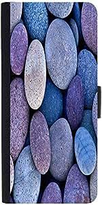 Snoogg Pebble Stone Beach Designer Protective Back Case Cover For Asus Zenfon...