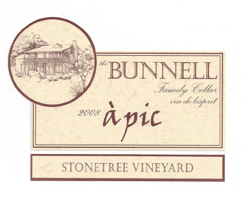 "2008 The Bunnell Family Cellar Stonetree Vineyard Wahluke Slope ""Á Pic"" Blend-Red 750 Ml"