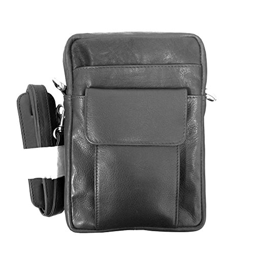 Winn-Harness-Leather-Compact-Organizer-NS-Style-Black-Brown