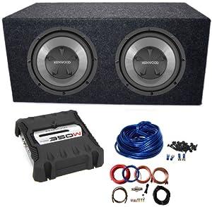 "Amazon.com : KENWOOD DUAL 12"" SUBWOOFERS+AMPLIFIER+SUB BOX"