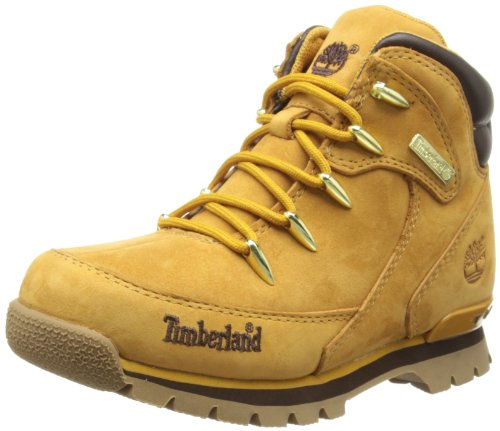 Timberland Boys Euro Rock Hiker Boots C30X0R Wheat 2 UK, 34.5 EU