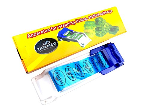 Hanperal Stuffed Grape & Cabbage Rolling Machine Imported Pp Plastic Stuffed Leaf Rolling Tool(blue) (Machine Grape compare prices)