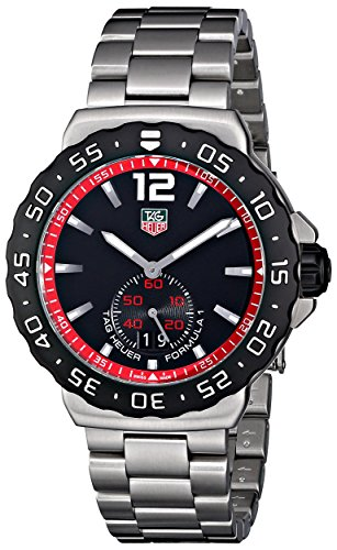 Tag Heuer Men's WAU1114.BA0858 Formula 1 Black Dial Dress Watch image
