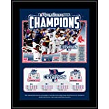 Boston Red Sox 2013 MLB World Series Champions Sublimated 10.5'' x 13'' Team Plaque