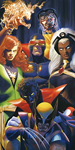 Marvel X-traordinary Signed by Alex Ross Framed Fine Art Canvas (Marvel Signed Framed compare prices)