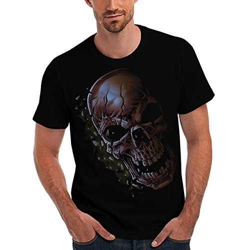 Wellcoda | Monster Skeleton Deadly Evil Mens NEW T-Shirt Black S-5XL