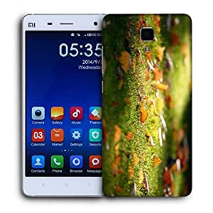 Snoogg Lake Side Forest Printed Protective Phone Back Case Cover For Xiaomi Mi 4