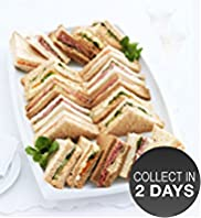 Luxury Sandwich Platter (20 Sandwich Quarters)