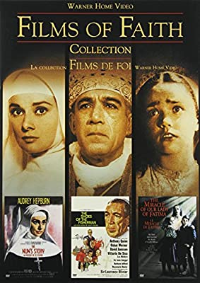 Films of Faith Collection: The Nun's Story / The Shoes of The Fisherman / The Miracle of Our Lady of Fatima (Bilingual)