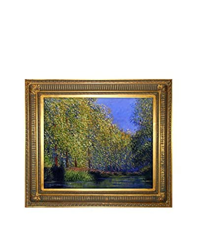 Claude Monet Bend in The Epte River by Monet with Regal Gold Frame