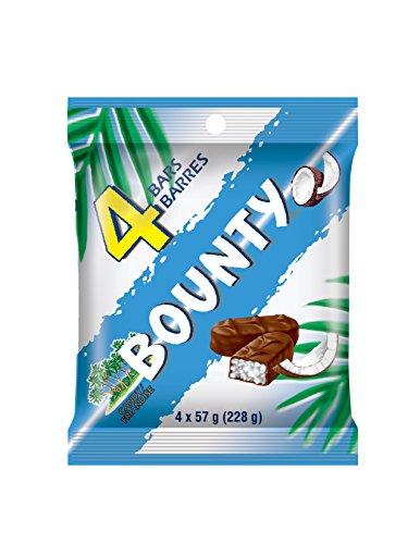 Bounty Chocolate 4 Pack 228g