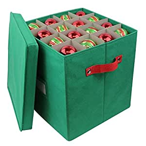 Pakkon christmas decoration ornaments storage for Xmas decoration storage boxes