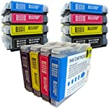 12 CiberDirect Compatible Ink Cartridges for use with Brother MFC-440CN Printers.