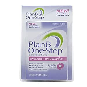 Plan B One-step Emergency Contraceptive 1 Tablet