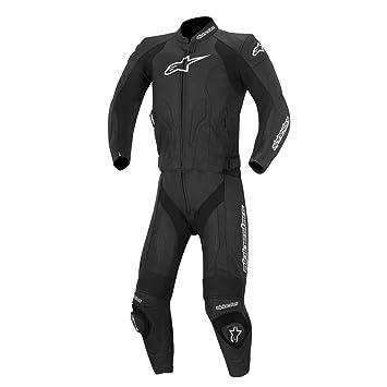 Moto Alpinestars Challenger en cuir pour femme 2Pc-Noir noir Noir 48