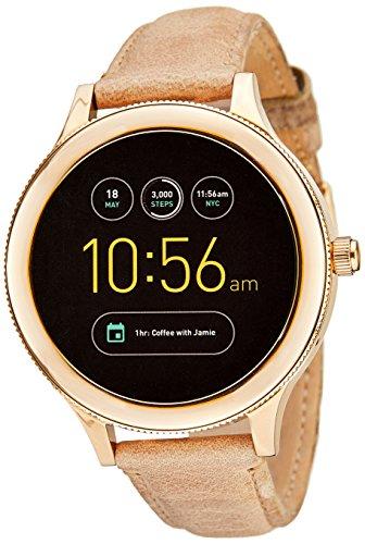 파슬 Fossil FTW6005 Gen 3 Q Venture Smartwatch, Sand Leather,beige