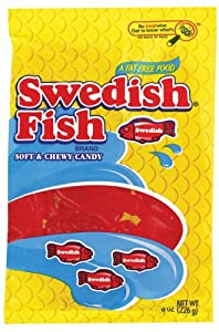 Swedish fish red fish soft chewy candy 3 1 for Swedish fish amazon
