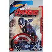 Hot Wheels Marvel Avengers Age Of Ultron Captain America Power Rage 2/8
