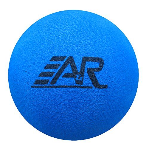 A&R Sports Mini Hockey Foam Ball, Blue - 1
