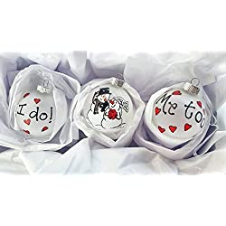 First Christmas 2016 - Wedding Ornament Gift Set