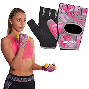 Bionix Ladies Pink Gym Fitness Workout Weight Exercise Cycling Training Gloves by Bionix