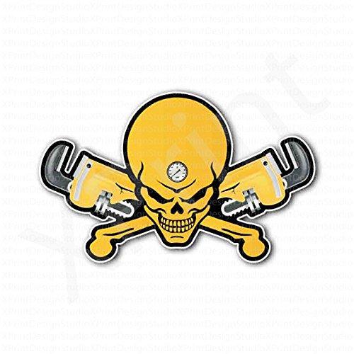 plumbing-cross-tools-skull-sticker