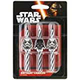 Star Wars Icon Birthday Cake Candles - 6 pc